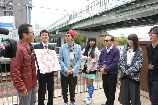 大阪環状線ツアーでは、ほんこん、ヒャダインが合流 (c)テレビ朝日