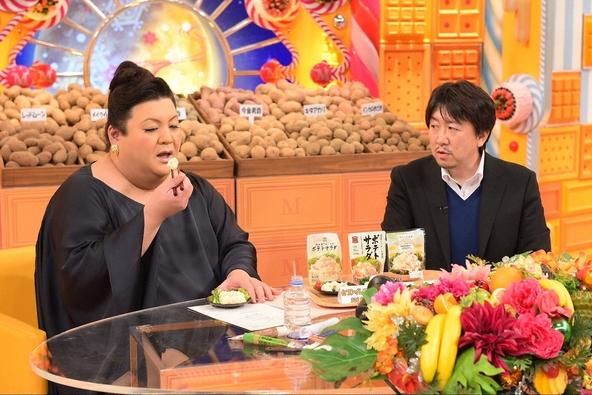 「マツコの知らない世界」ポテサラ男爵こと石橋清一(右)とマツコ・デラックス(左) (c)TBS