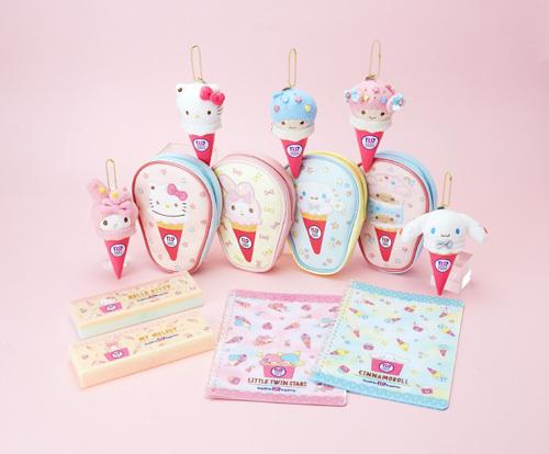 サンリオ×サーティワン アイスクリーム、コラボグッズが本日17日より新発売!