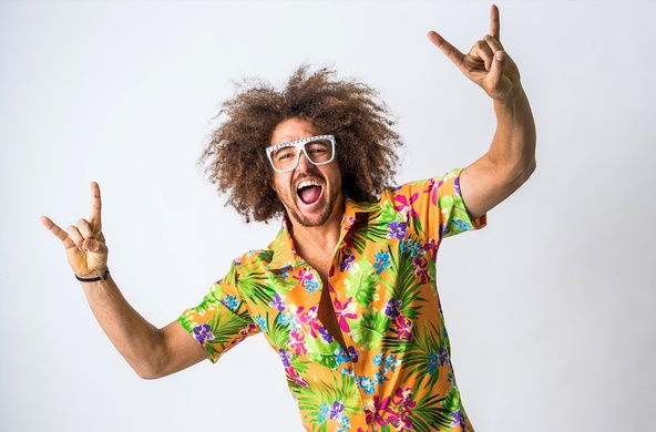 元LMFAOのお祭り男レッドフーが全開でぶっ飛ばす『パーティー・ロック・マンション』3月に世界同時リリース!