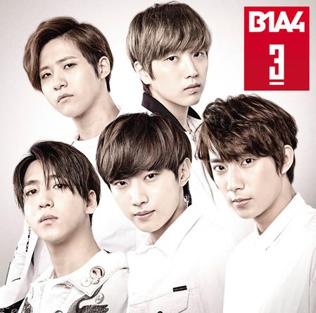 B1A4、3rdアルバム「3」韓国で発表されている「SWEET GIRL」「WAIT」の日本語バージョンも収録!