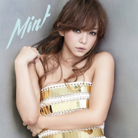 オリコン週間シングルランキング初登場4位を獲得した、安室奈美恵のニューシングル「Mint」(写真はCD盤ジャケット)