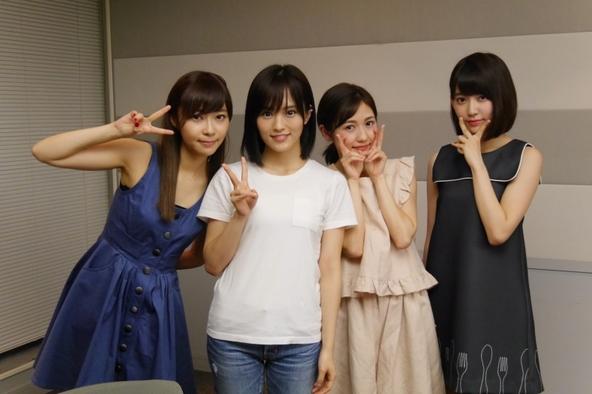 「AKB48のオールナイトニッポン」特別番組に出演した、(写真左より)指原莉乃、渡辺麻友、山本彩、宮脇咲良