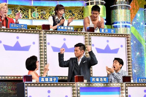 『くりぃむクイズ ミラクル9』的場浩司率いる「人気俳優ナイン」 (c)テレビ朝日