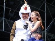 情熱大陸スペシャルライブ大阪公演、汗だく葉加瀬オラフの登場にMay J.「♪少しも溶けてないわ」