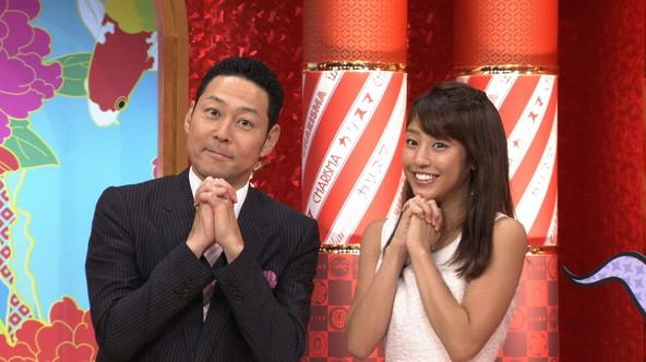 『なにゆえのカリスマ!?~熱狂する人させる人』左から:東野幸治、岡副麻希 (c)TBS