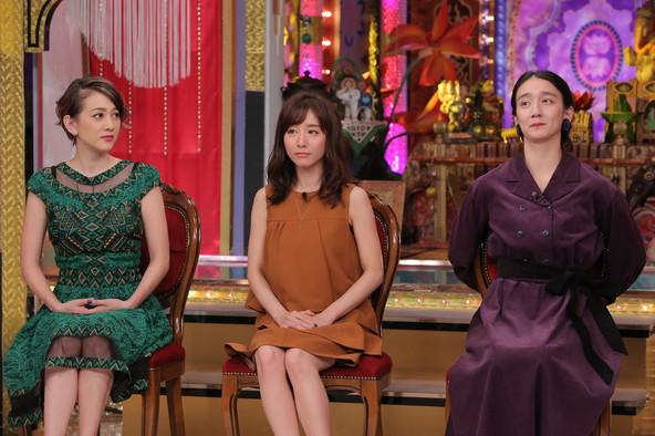 『今夜くらべてみました』ゲスト:SHELLY、田中みな実、長井短(1) (c)NTV
