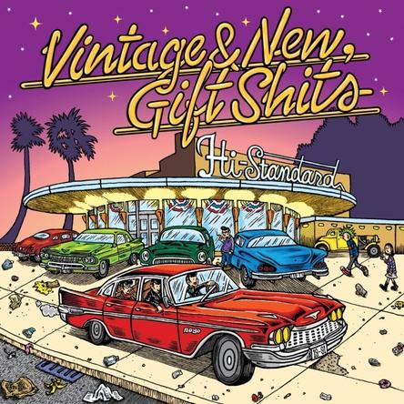 オリコン週間シングルランキング初登場3位を獲得した、Hi-STANDARDの再始動後第2弾シングル「Vintage & New, Gift Shits(I Get Around/You Can't Hurry Love)」(PiZZA OF DEATH RECORDS/12月7日発売)