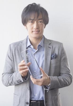 第6回『コンフィデンスアワード・ドラマ賞』新人賞を受賞した大谷亮平