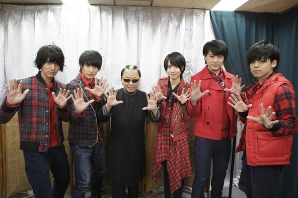 2月12日(日)放送「マジ☆弟子」マジプリがMr.マリックに弟子入り (c)テレビ東京