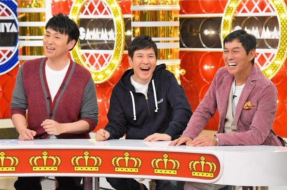 『痛快!明石家電視台』左から:児嶋一哉(アンジャッシュ)、関根勤、明石家さんま (c)MBS