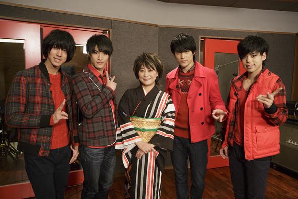 3月5日(日)放送「マジ☆弟子」マジプリが水谷千重子に弟子入り (c)テレビ東京