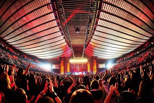 """the GazettE """"大日本異端芸者""""を掲げた十五周年記念公演で13,000人熱狂、夏には9年ぶりの単独野外ライブを開催"""