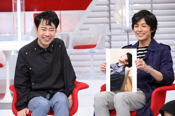 『おしゃれイズム 春の1時間SP』左から:藤井隆、藤木直人 (c)NTV