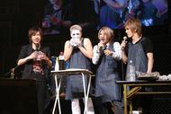 樽美酒がアキラ100%のネタを、喜矢武は「ラ・ラ・ランボー」!自由すぎる金爆ライブはバラード曲でクッキング