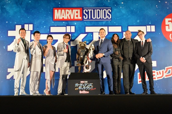 【0410開催】『GOG:R』ギャラクシー・カーペット・イベントでの様子 (c)Marvel Studios 2017