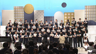 """AKB48合唱選抜""峯岸、小栗、小田が中学校の部レッスンをサポート!『Nコン2017』"