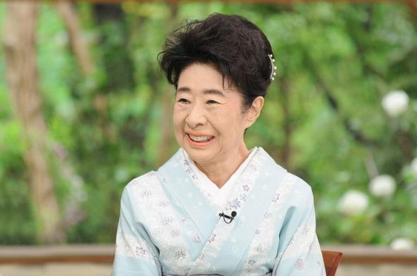 『サワコの朝』ゲストの中村玉緒 (c)TBS