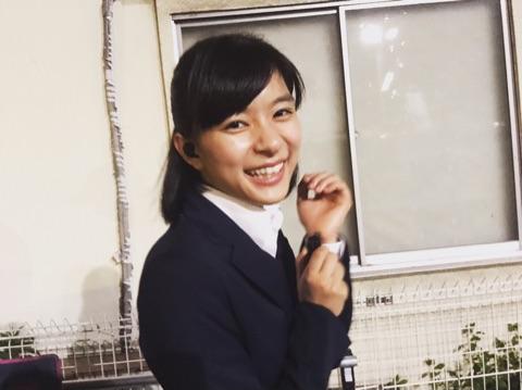 芳根京子が公開した『小さな巨人』オフショット(1)