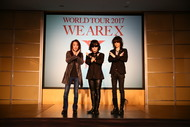 X JAPAN、ワールドツアー日本公演決行!「前に進むことでしか生きて行けない。生きる目標が欲しい。」