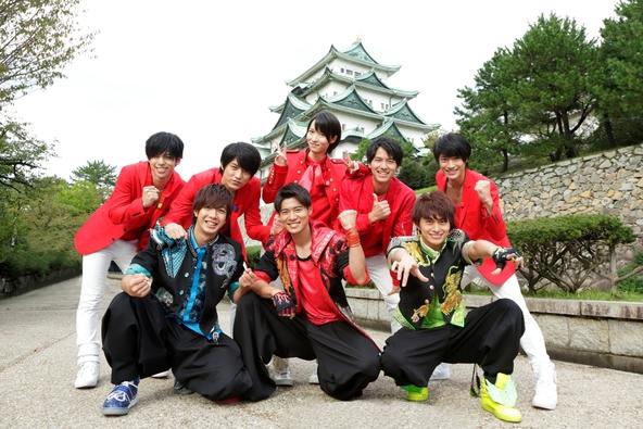 MAG!C☆PRINCE×田村侑久、辻本達規、小林豊(BOYS AND MEN) (c)「マジ☆弟子 SEASON2」