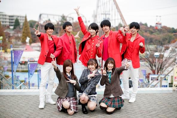 「マジ☆弟子 SEASON2」MAG!C☆PRINCE、SKE48(須田亜香里、高柳明音、谷真理佳) (c)テレビ東京