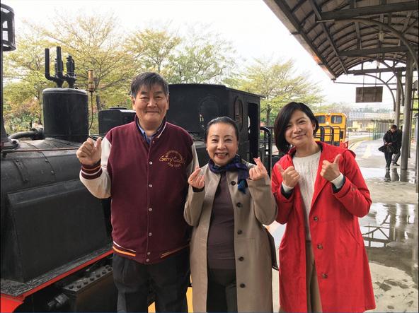 「世界ふしぎ発見!」日本と台湾の人々が再生させた車両の復活秘話を紹介。〈ミステリーハンター〉宮地眞理子 (c)TBS