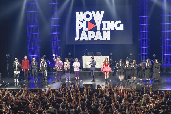 キック、オーラル、BiSH、Miracle Vell Magicが熱狂ライブ!千葉雄大初MC「NOW PLAYING JAPAN LIVE vol.1」大盛況
