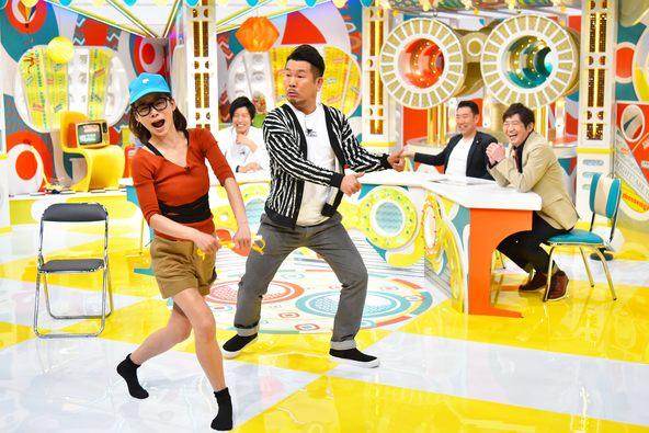 朝日奈央がFUJIWARA藤本と、にゃんこスターのネタを披露!