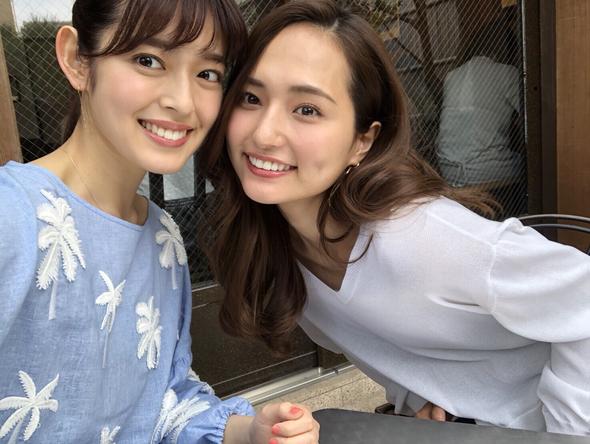 『タビフク+VR』山賀琴子と矢作穂香が京都・宇治を巡るふたりタビ(1) (c)TBS