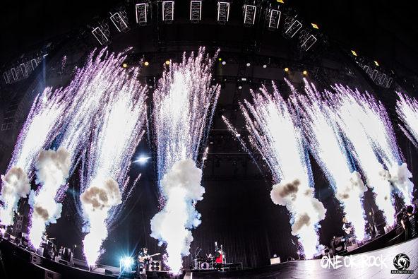 ONE OK ROCKの日本凱旋4大ドームツアー・東京ドーム公演がテレビ放送「この声が枯れるまで走り続けたい」