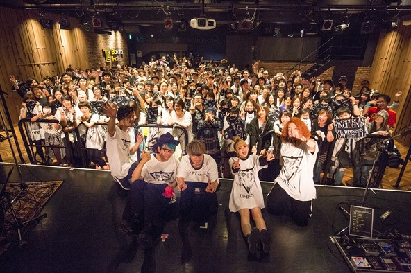 東名阪2マンツアーファイナルを迎えたCIVILIAN、盟友GARNiDELiAと満を持しての共演「CIVILIDELiAです!」