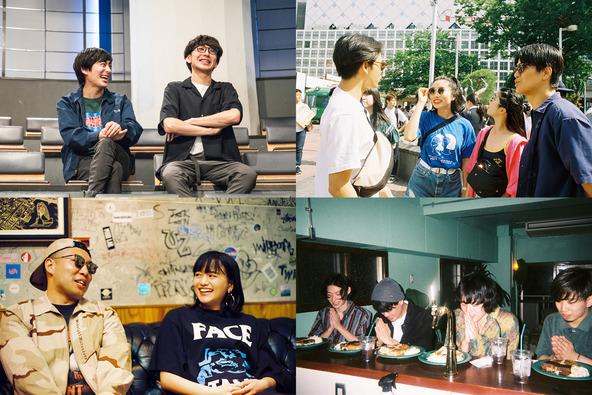 尾崎世界観、フレデリック、Yogee New Waves、CHAIらが渋谷をガイドする企画「SHIBUYA STREET PROJECT」始動