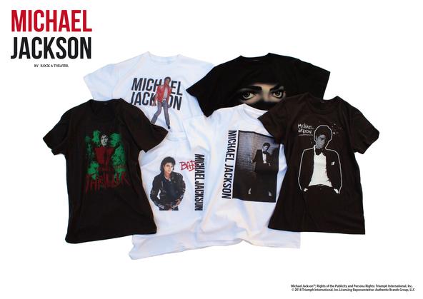 生誕60周年「マイケル・ジャクソン」のオフィシャルアパレルブランド登場、オーガナイザーは西寺郷太