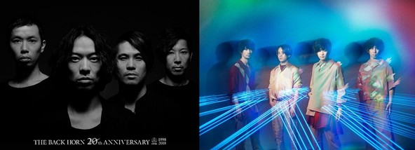 「uP!!!SPECIAL LIVE HOLIC vol.18」に先駆け、THE BACK HORN×フレデリックがListen withイベントを実施!