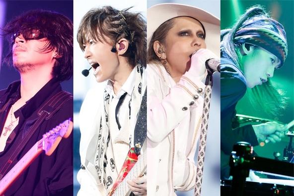 L'Arc〜en〜Ciel、2017年4月の25周年記念ライブ映像がBD首位獲得