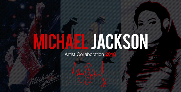 Michael Jackson by ROCK A THEATERから『MICHAEL JACKSON Artist Collaboration』Tシャツが発売決定!