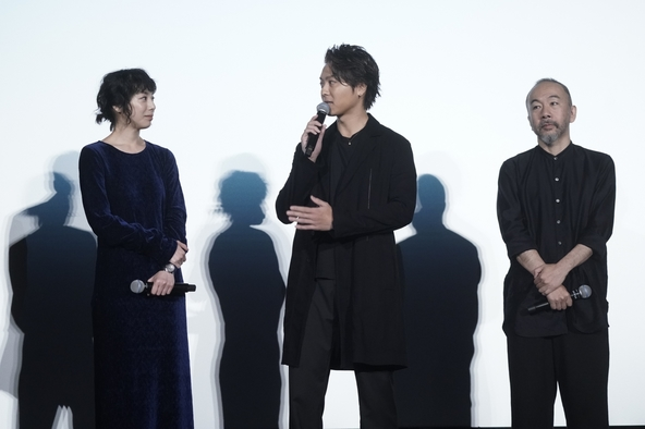 TAKAHIRO、塚本晋也に殴られ「思っていた以上に重いものが来ました(笑)」『ウタモノガタリ』公開記念舞台あいさつ