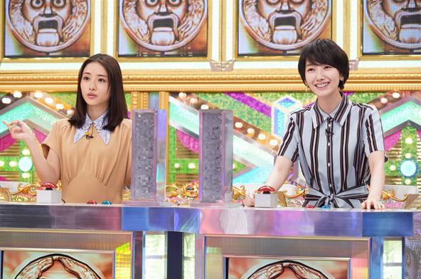 「超問クイズ!真実か?ウソか?」石原さとみ VS 波瑠 (c)NTV