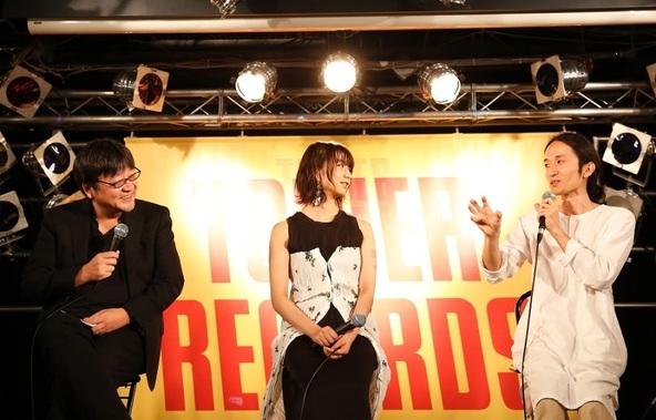 細田守、上白石萌歌、高木正勝がクロストーク 映画『未来のミライ』サントラ発売イベント