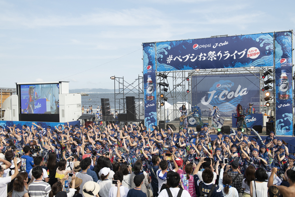 """""""怪物舞踏団""""初のシークレットライブに真夏の江の島が今年""""最上級""""の大盛り上がり!「日本の夏を盛り上げたい」"""