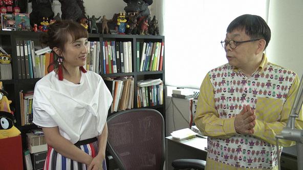 『SWITCHインタビュー』百田夏菜子(ももいろクローバーZ)原ゆたか(児童書作家) (c)NHK