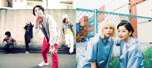 4人組バンド・パノラマパナマタウンとガールズラップユニット・chelmico「LIVE NEXT OUT」に出演決定!