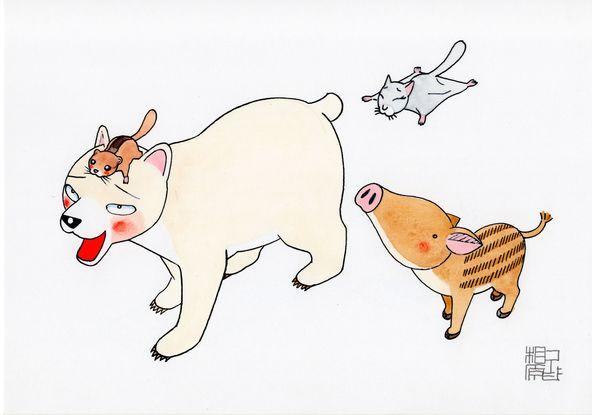 あの名作ギャグ漫画『かってにシロクマ』が復刊!?相原コージ デビュー35周年で「誰かお祝いしてくれてもいいんじゃね!?」