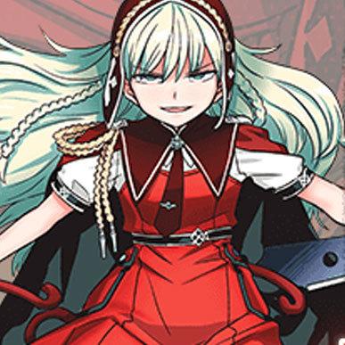 少女、魔法、鮮血、死闘──残酷なる運命の物語。『赫のグリモア』