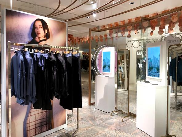 『Perfume Closet』が全国にポップアップストアを展開、店舗毎にしか見ることができない限定映像も