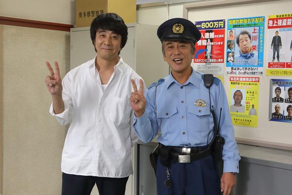 山崎まさよし、自身が主題歌を担当する『駐在刑事』にカメオ出演! 謎の男役に「こういう出方は嫌いじゃない(笑)」