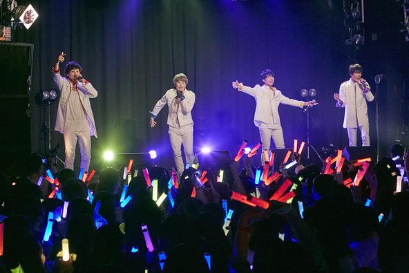 九星隊、初のワンマンライブにて4th Singleリリースを発表!チケット完売のライブで初パフォーマンス