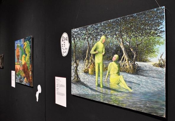 しりあがり寿も登壇の『バッドアート美術館展』レポート 名作か迷作か? 全110点が日本初公開! (c)《沼ピクニック》