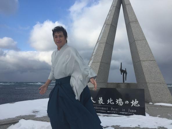 """松原健之が""""日本最北端の映画館""""で新曲「最北シネマ」をPR!""""稚内ふるさと大使""""任命で「歌手冥利につきます」"""